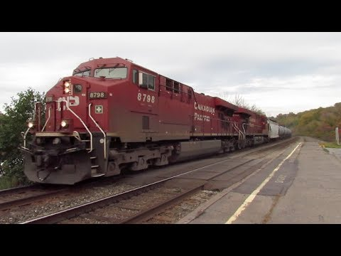 Canadian Pacific Ethanol Train in Amsterdam NY