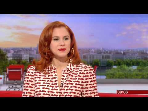Katy B Interview BBC Breakfast 2014