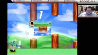 Francis plays FLABBY BIRD (Flappy Bird parody)