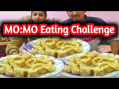 MOMO Eating Challenge. MUKBANG. Home made momo.Who get the Chilly momo?