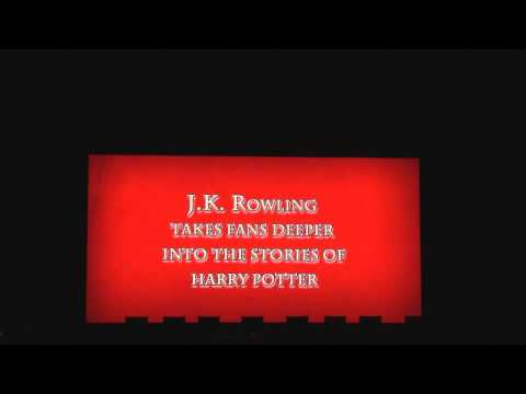 Harry Potter Tribute during Harry Potter Celebration