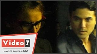 Hao123-بالفيديو..أول ظهور لـ«عز و زينة»فى مكان واحد بعد الأزمة فى عزاء نهاد عبد العزيز