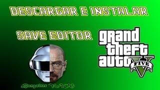 Descargar E Instalar El SAVE EDITOR GTA V // ESPAÑOL :D