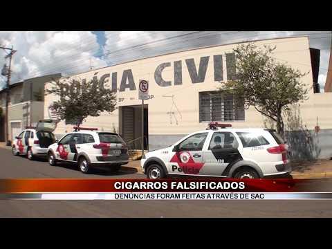 10/02/2018 - Cigarros de palha artesanais são alvo de falsificação em Barretos e em cidades da região