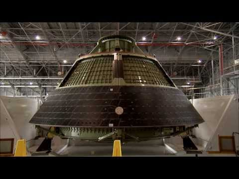 Orion Ground Test Article Arrives at NASA Langley Research Center