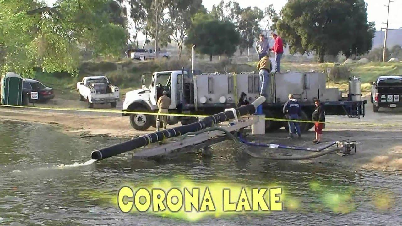 for Corona lake fishing