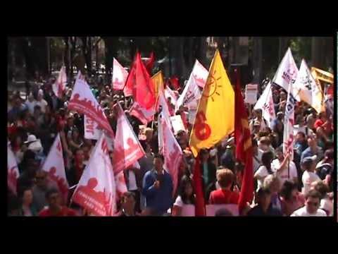 Dia do Trabalhador na Praça da Sé! <br>Dia de Luta