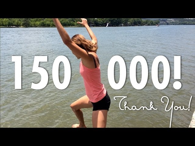 150,000 Subscribers! - THANK YOU!