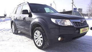 2013 Subaru Forester 2.0. Start Up, Engine, and In Depth Tour.. MegaRetr
