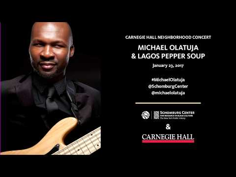 """Soki"" Michael Olatuja @ Lagos Pepper Soup"