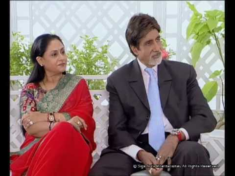 Rendezvous with Simi Garewal Amitabh Bachchan and Family Part- 1