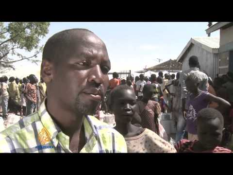 S Sudan refugees seek refuge in Kenya