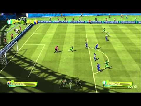 2014 FIFA World Cup Brazil - Nigeria vs Bosnia and Herzegovina Gameplay [HD]