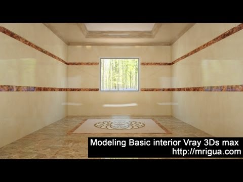 Modeling Basic Simple interior