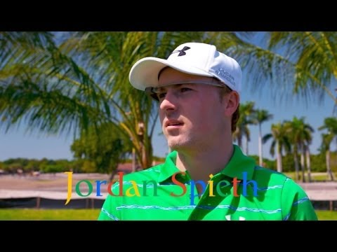 Jordan Spieth and caddie talk strategy with Google Glass