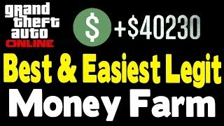 "GTA Online NEW BEST & EASIEST ""MONEY GUIDE"" (After Patch"
