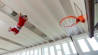 Slam Dunk Supertramp Style - Faceteam Basketball..