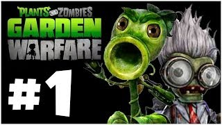 Plants Vs. Zombies Garden Warfare Walkthrough PART 1 Let's