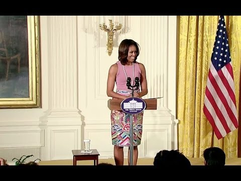 First Lady Michelle Obama Marks Diwali at the White House