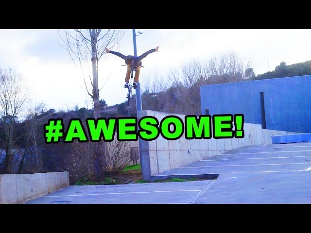 BMX: Awesome No Hand Drop by Ed Zunda