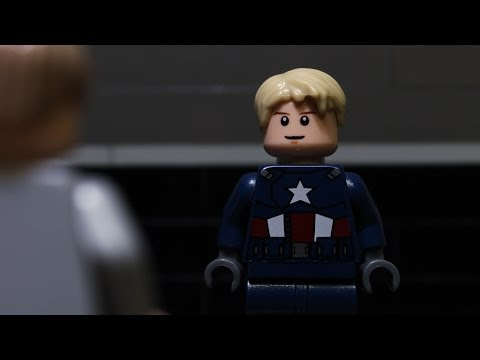 Lego Captain America The Winter Soldier Trailer #1
