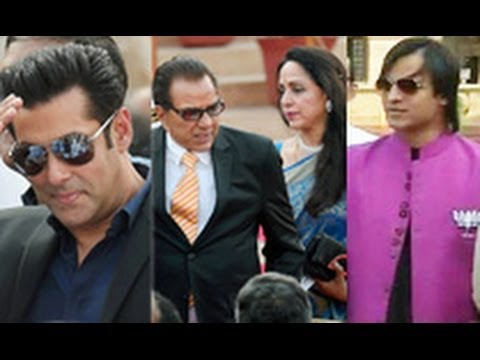 Bollywood Stars Attend Narendra Modi's Swearing-in Ceremony | Hot Bollywood News | Salman, Vivek