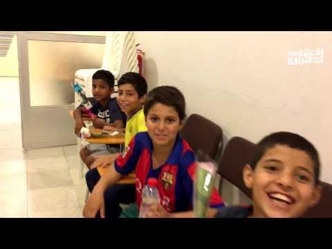 مهرجان الرياضة المدرسية الأول بعنيزة ( استقبال وفد الرياض )