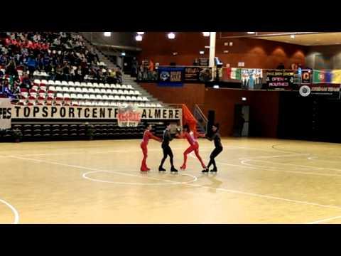 EK rolschaatsen Almere, Celebrity -