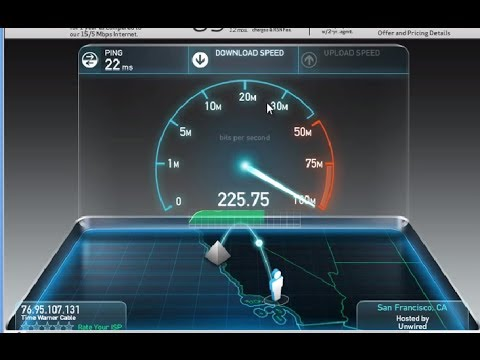 Time Warner Cable Maxx speed test