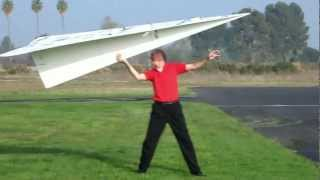 Record dunia - Pesawat kertas terbesar
