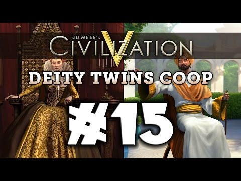 Civilization 5: Deity Twins [Arabia / England] #15