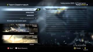 Call Of Duty Ghosts: How To Play Multiplayer Online