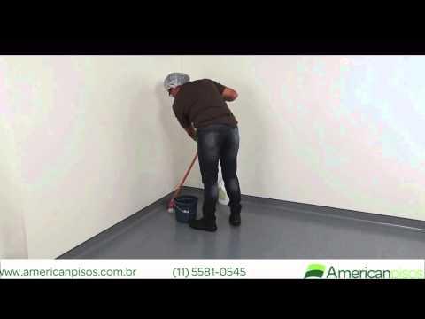Como limpar piso vinílico em manta - American Pisos
