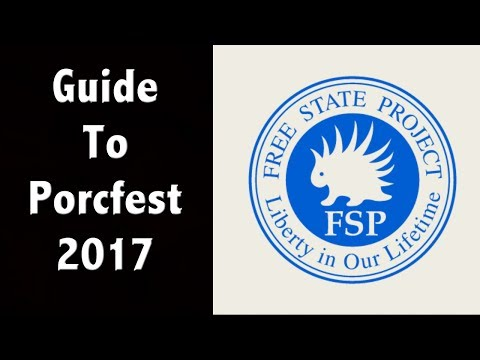What is The Porcupine Freedom Festival - Guide To Porcfest 2017