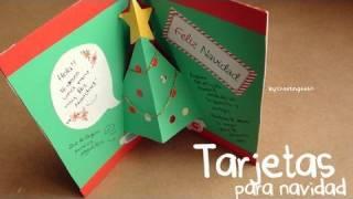 3 estilos de tarjetas navideñas