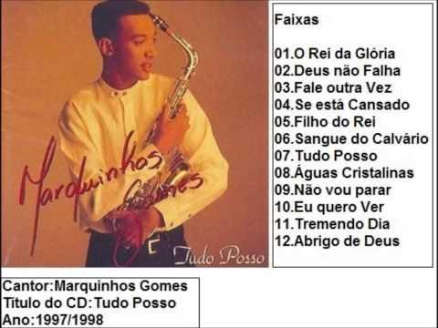 Marquinhos Gomes CD Tudo Posso (1997/98) Completo