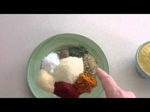 Homemade vegan soup broth