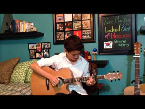 Locked Out of Heaven - Bruno Mars - Fingerstyle Guitar Cover