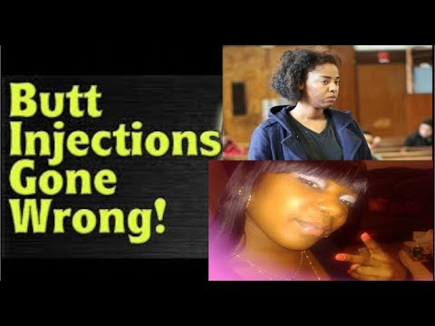 NJ~ANOTHER young female dies from ILLEGAL butt injections