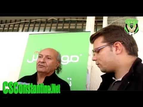 Déclarations de Rachid Belhout, nouvel entraîneur du CSC
