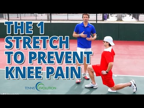 TENNIS FITNESS EXERCISE | How To Prevent Knee Pain