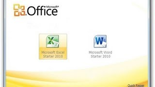 FREE Get Microsoft Office Starter Edition 2010 For