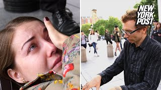 Piano-playing street performer brings audience to tears | Extraordinary People | New York Post