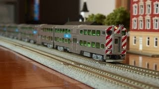 [Nscale Kato] Chicago Metra With Beacon (TCS K4D6 And K4
