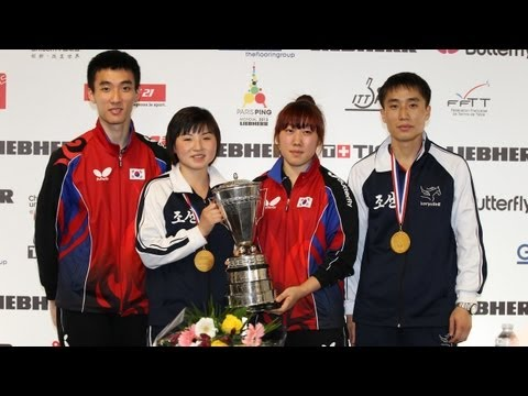 WTTC 2013 Highlights: Lee Sang Su/Park Young Sook vs Kim Hyok Bong/Kim Jong (Final)