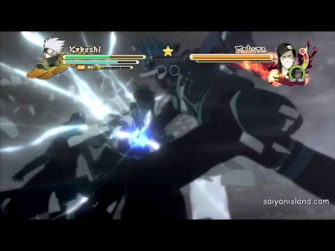 Naruto Ultimate Ninja Storm 3 Quick Time Event's ENGLISH DUB