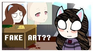 "What is a ""fake artist"" and what is a fake artist. [+Speedpaint.]"