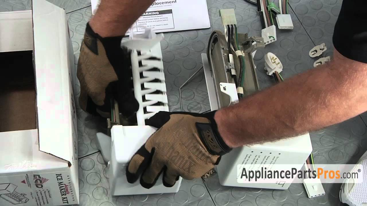 Refrigerator Icemaker Kit Part 4317943 How To Replace