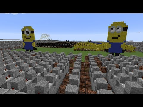 Pharrell Williams - Happy - Minecraft Note Block Remake