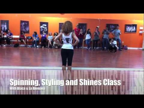 Salsa Spins, Shines and Styling Class with Ataca & Alemana